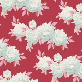 Tela Tilda Minerva red- Cottage Collection